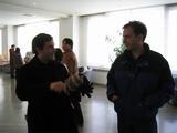 Tim and Dan at the resort