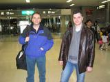 At Haneda airport