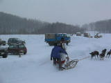 Me on the sled