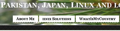 Blog banner in Internet Explorer 6