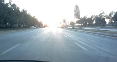 Empty Islamabad roads