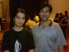 Top Pakistani guitarist Faraz Anwar and Sajjad Zaidi