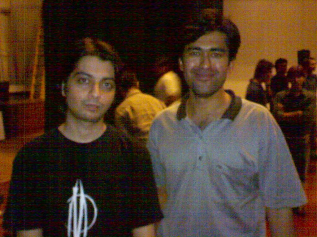 Top Pakistani guitarist Faraz Anwar and Sajjad Zaidi