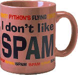 I don't like spam