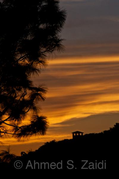 Margalla Hills sunset