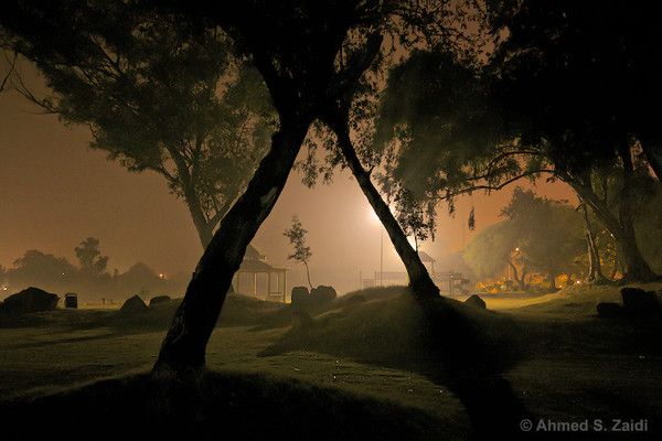 Islamabad Misty Night