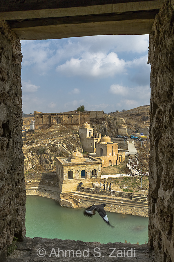 Katas raj temple birds-eye view