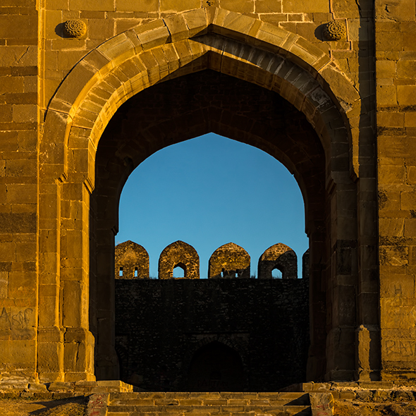 Rohtas Fort gate