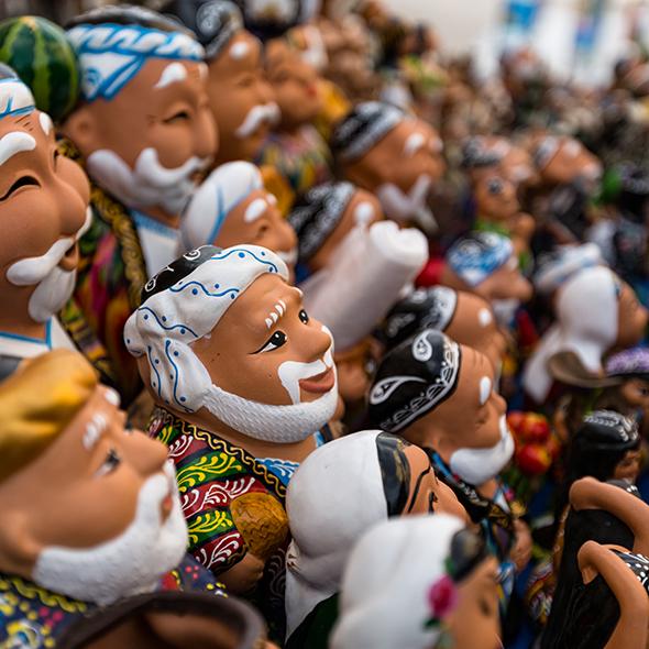 Uzbek Figurines