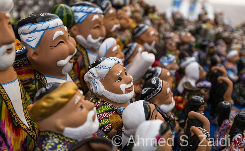 Uzbekistan figurines
