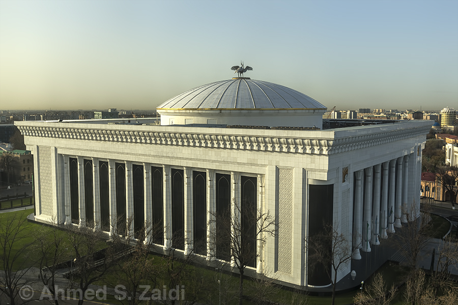 Uzbekistan Congress Center in Tashkent