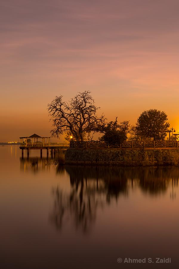Enchanting glow of dusk
