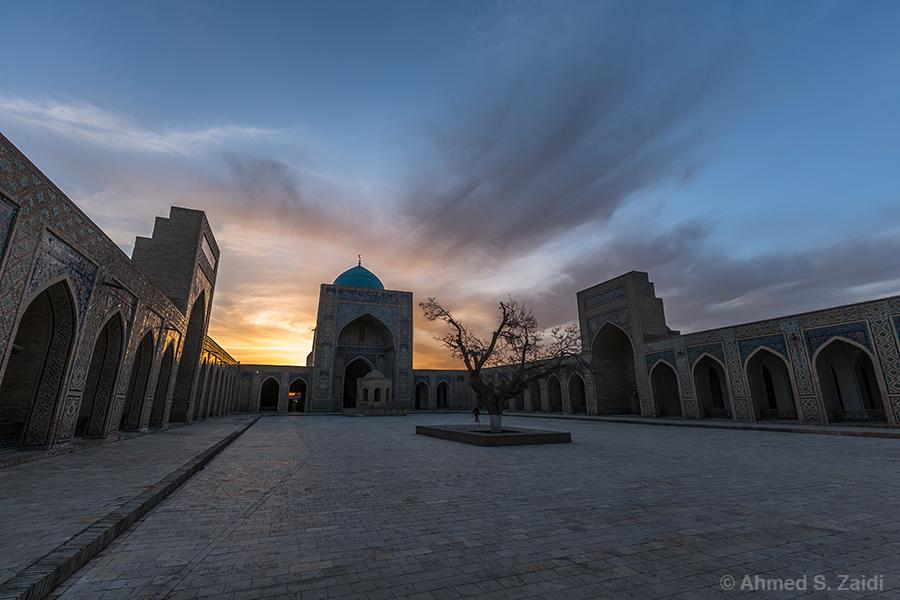 Kalyan mosque Bukhara courtyard