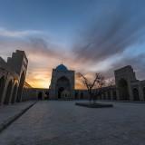 A Bukhara Sunset
