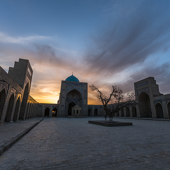 A Bukhara Sunset