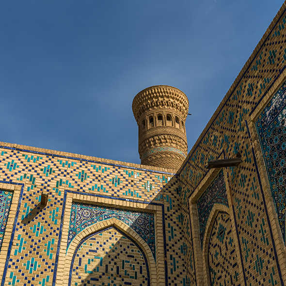 Po-i-Kalyan Mosque in Bukhara