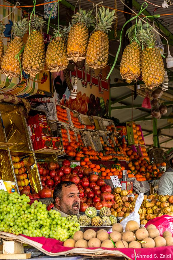 Fruits variety sunday bazaar