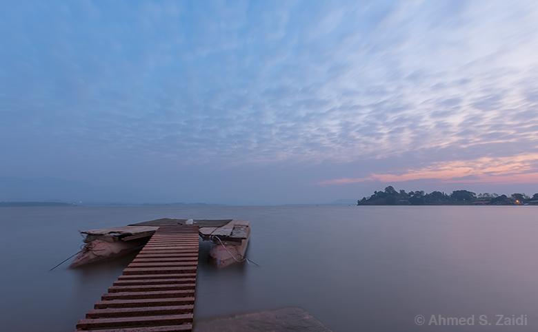 Rawal Lake floating pier