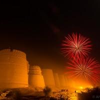 Derawar Fort fireworks