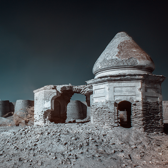 Derawar Fort Infrared