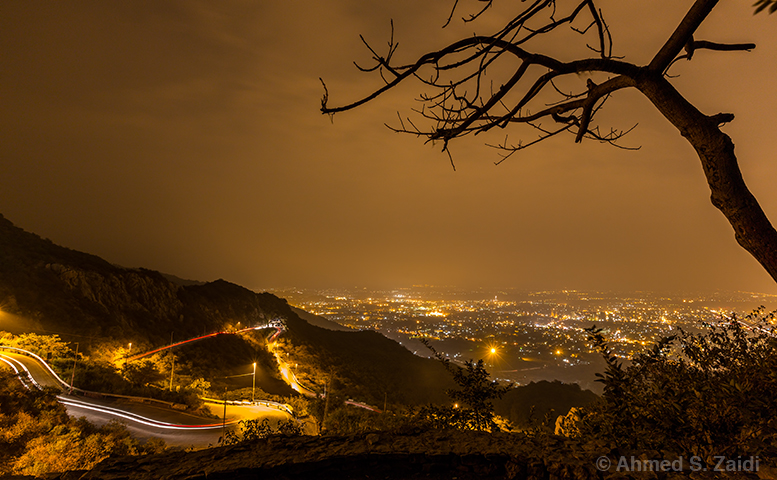 Islamabad night lights