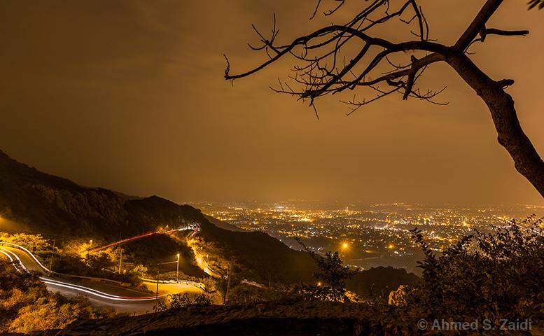 Islamabad night lights