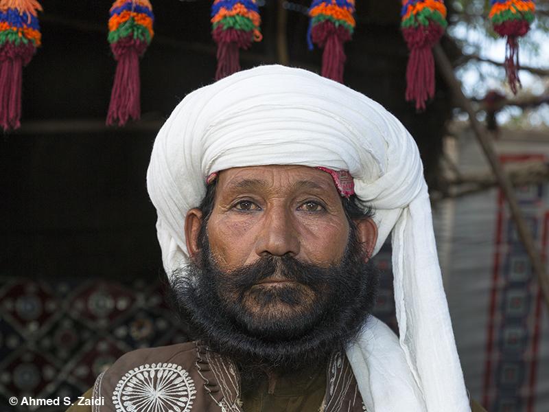Balochistan tribal headgear