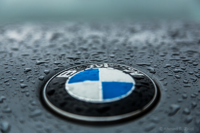 Focused ingenuity BMW logo