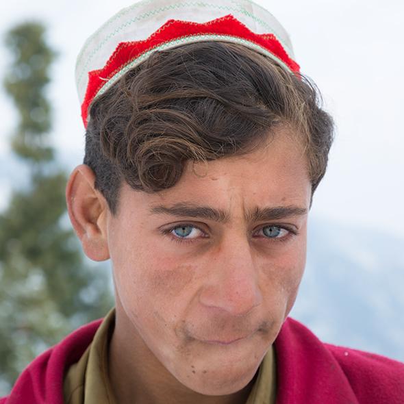 Pakistan Swat-valley local boy
