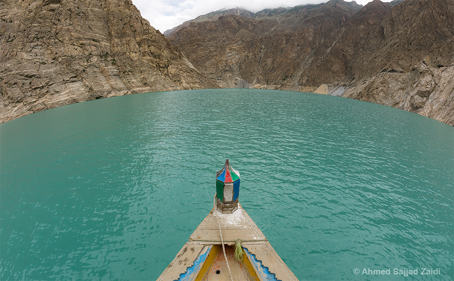 Attabad Lake Hunza Fisheye