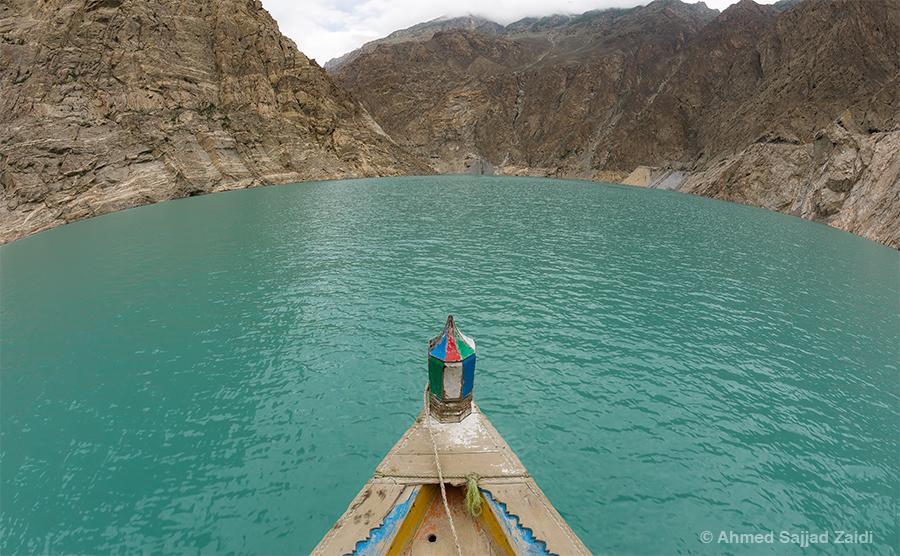 Attabad Lake Hunza Fisheye