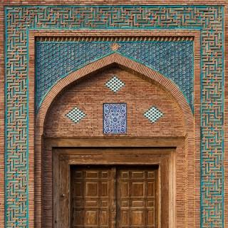 Baha-ud-din Zakariya Mausoleum Doorway
