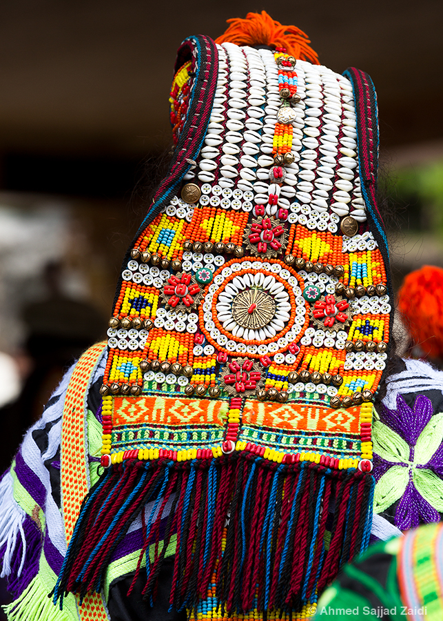 Kalash tribal headdress