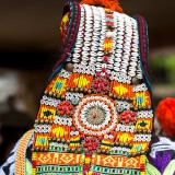 The Headdress of a Kalashi Woman