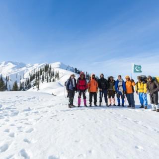 Makra Peak and Siri Paye Winter Expedition