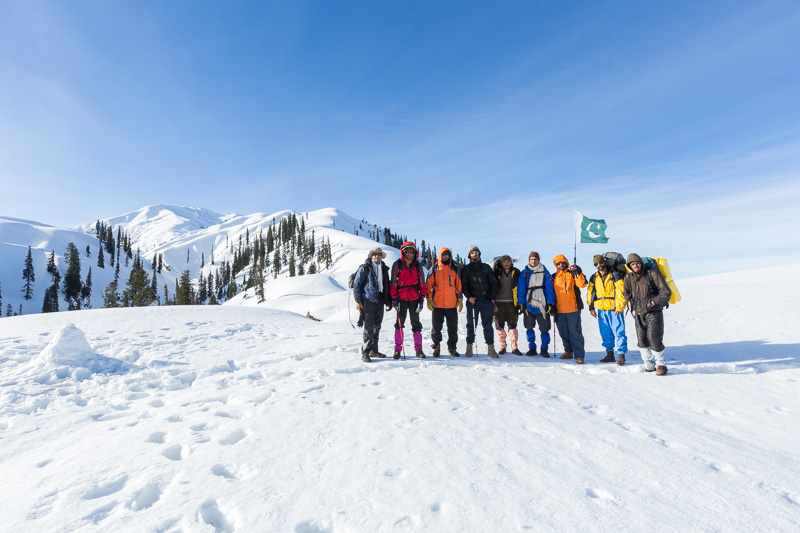 Makra Peak winter expedition 2015