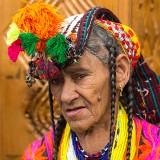 Kalash Woman Portrait