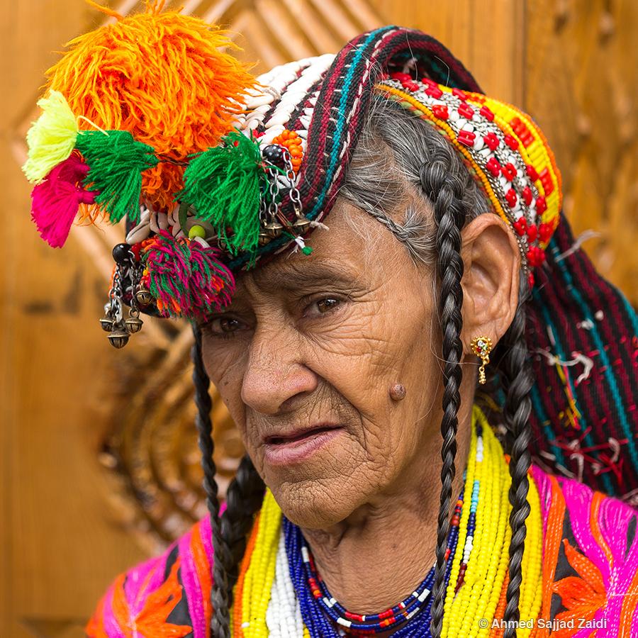 Kalashi woman elder