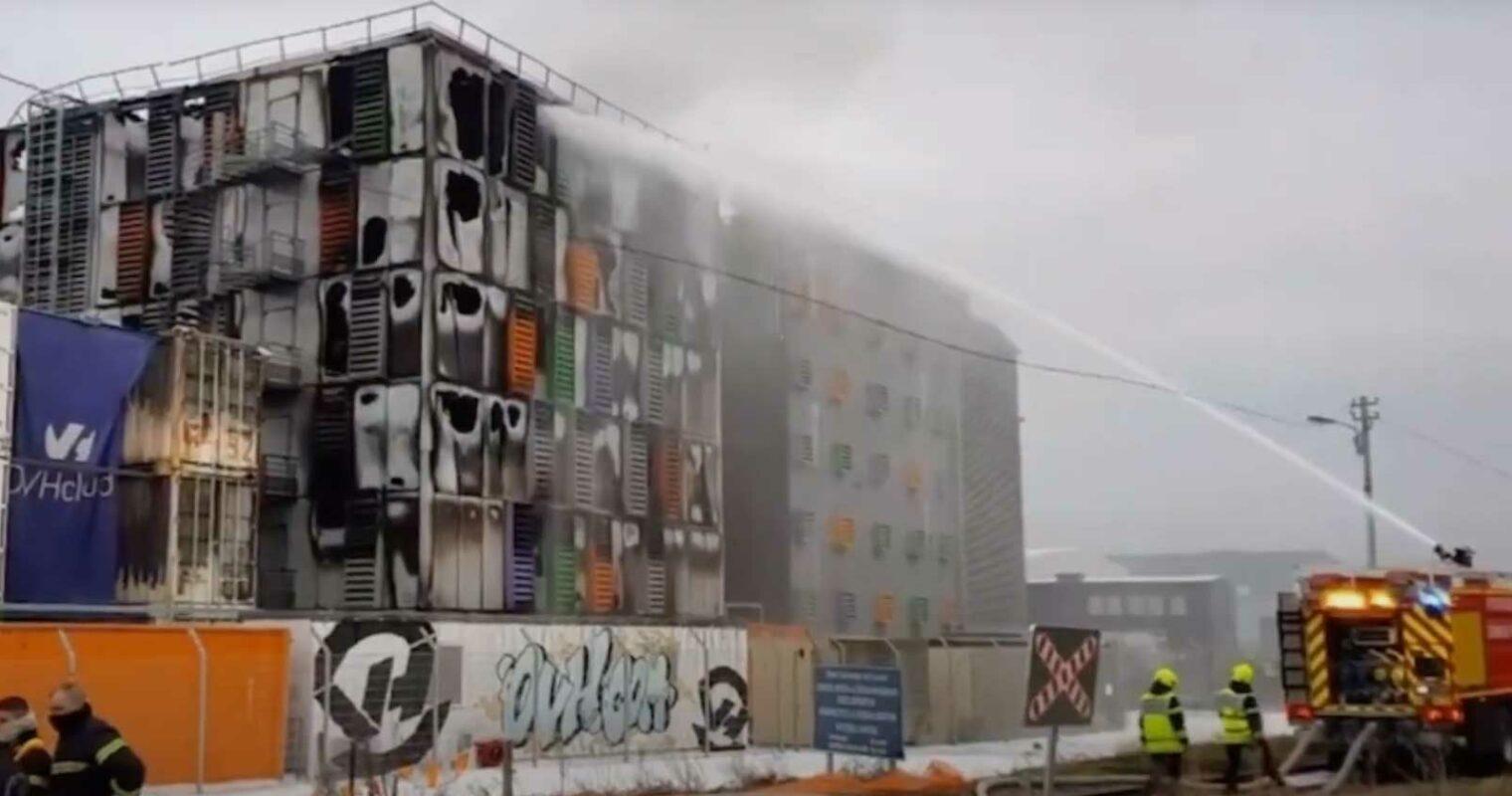 OVH data center fire